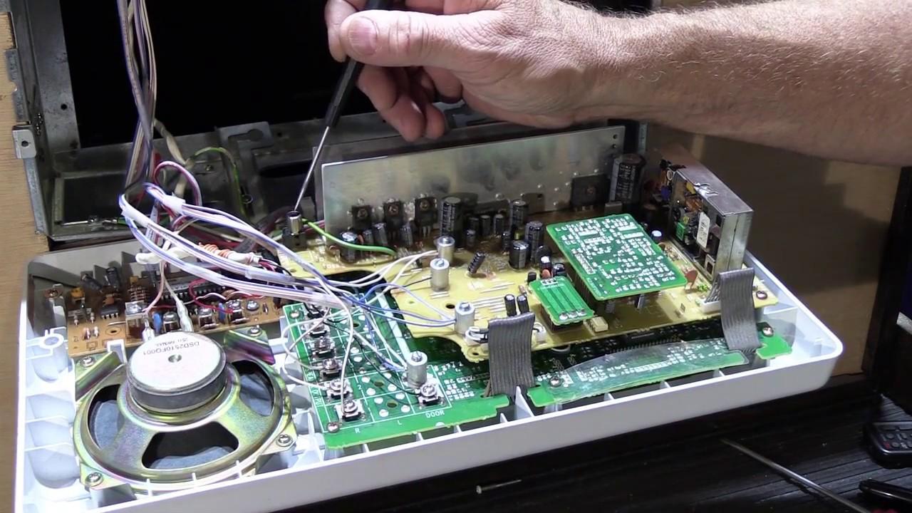 how to remove a nutone im3204 radio intercom master station [ 1280 x 720 Pixel ]
