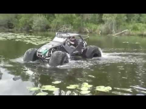 Swamp Buggy - Amphibious Lake Test