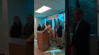 Osvaldo Rios en conferencia a 1año del huracán María