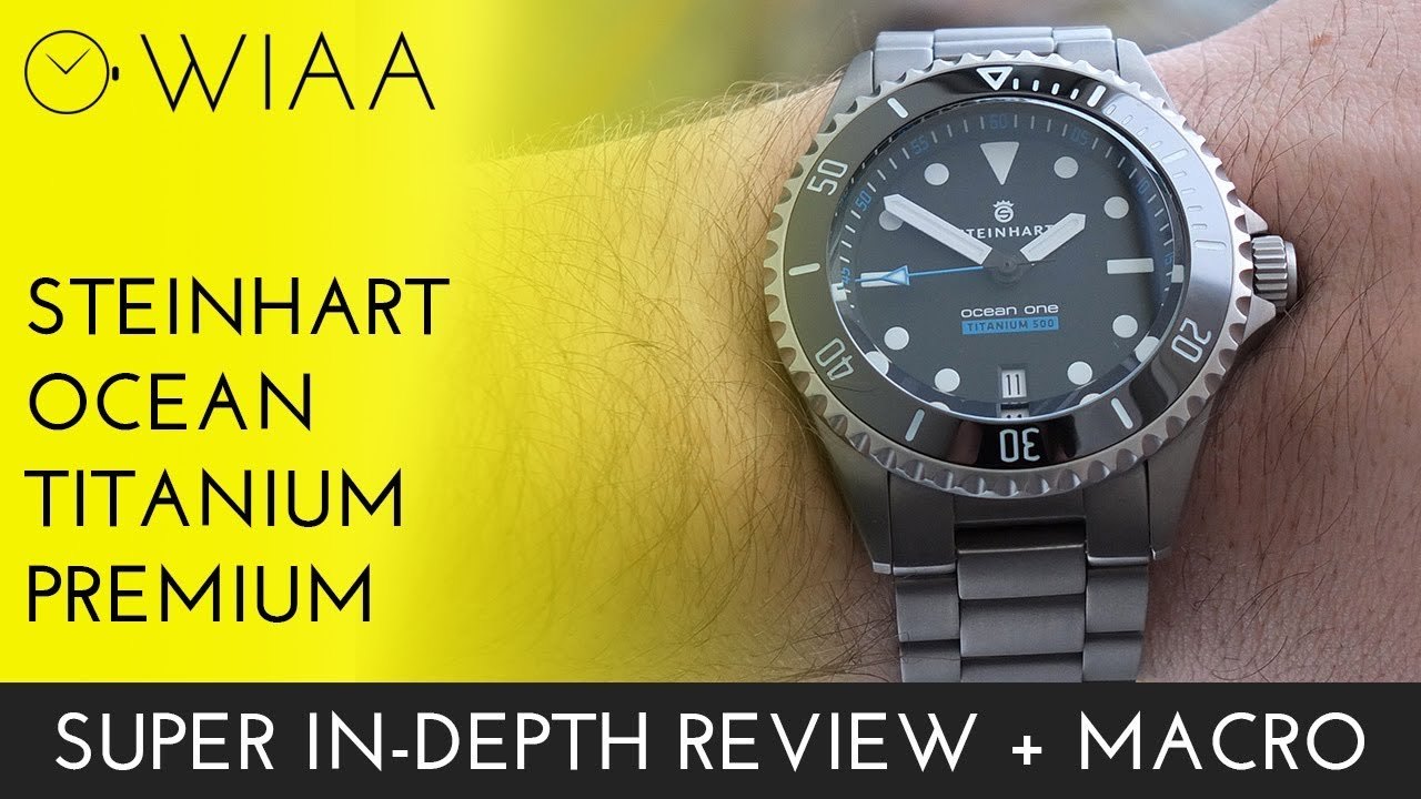 Steinhart Ocean Two Review   Steinhart's Best Watch? - YouTube