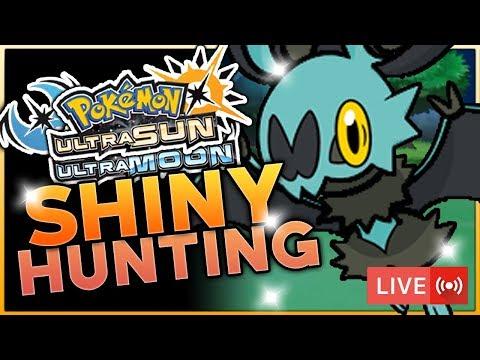 LIVE SOS SHINY HUNTING! Pokemon Ultra Sun and Ultra Moon Shiny Hunting w/ HDvee