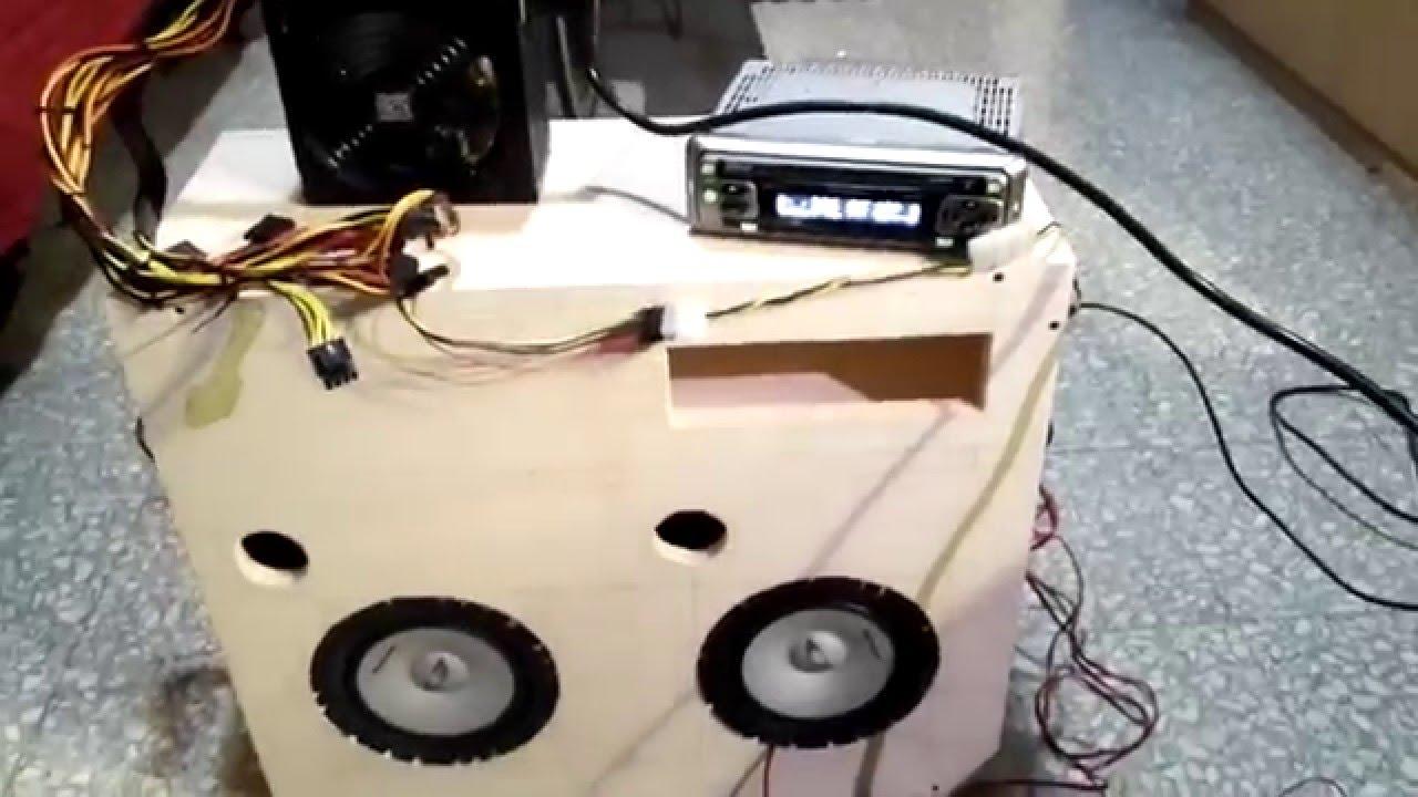 Collegare stereo auto pioneer deh 1500r a box casse e al for Casse per tv