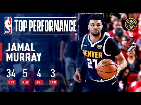 Jamal Murray Drops a Clutch 34 in Game 4! | May 5, 2019