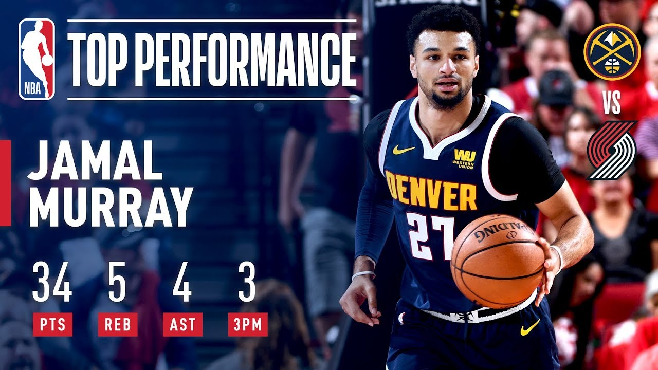 89125dcf00d9 Jamal Murray Drops a Clutch 34 in Game 4!