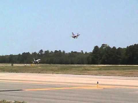 Emergency Landing @ Seymour Johnson AFB