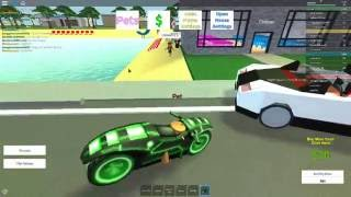 Who said dogs cant ride motorbikes?| Roblox| Adopt a child
