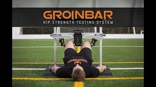 GroinBar Hip Strength Testing System