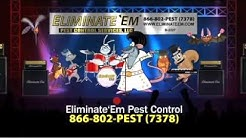 Mouse Elvis Commercial for CT, NY and MA: Eliminate'EM Pest Control Services