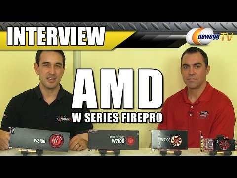 AMD FirePro WX100 Series Professional Graphics Cards Interview - Newegg TV