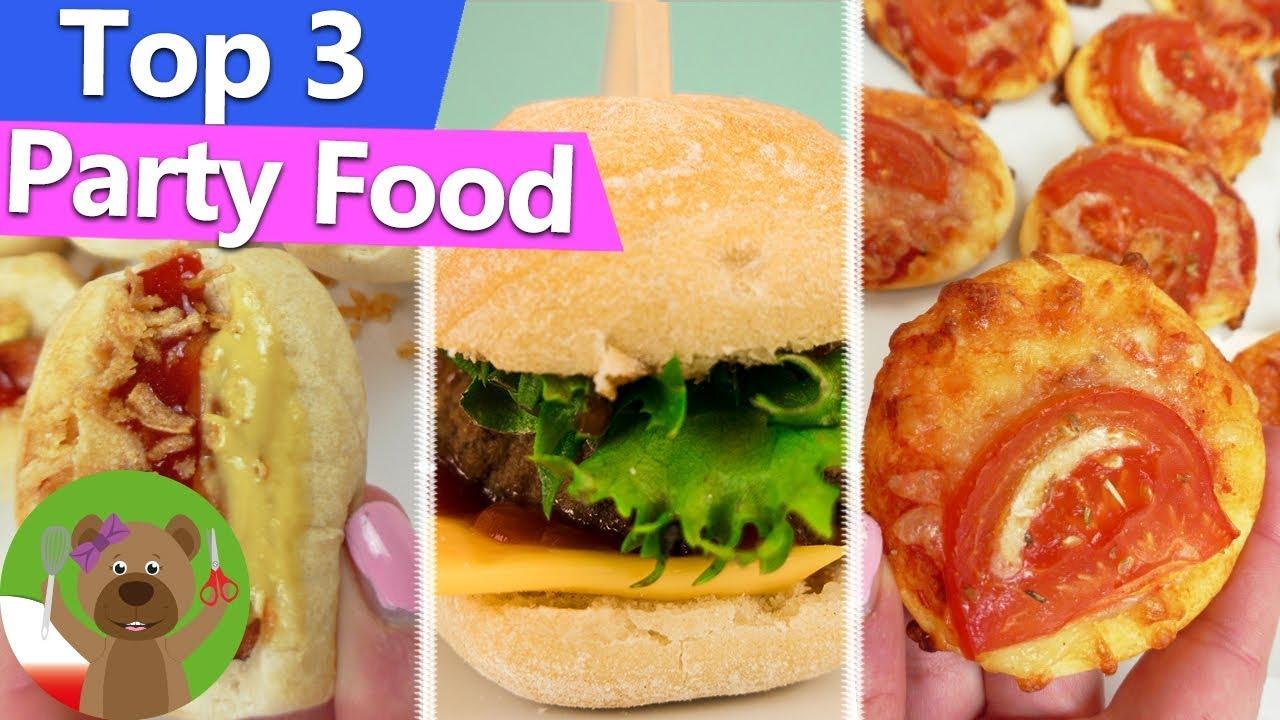 DIY jedzenie miniaturowe | przekąski na imprezę | mini pizza, mini burger, mini hot dog