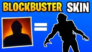 BLOCKBUSTER SKIN In Fortnite: Battle Royale! [PS4, Xbox One, PC] (VISITOR SKIN) *NEW*