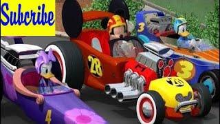 米老鼠俱乐部全集 - 赛车!汇编#2  - 迪士尼卡通游戏2018年高清。