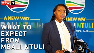 Eyewitness News reporter Nkosikhona Duma had a virtual chat with Democratic Alliance leadership candidate Mbali Ntuli on a variety of topics. Here she discusses the differences between her and the party's interim leader, John Steenhuisen, and what she would do if elected DA leader.  #DemocraticAlliance #MbaliNtuli