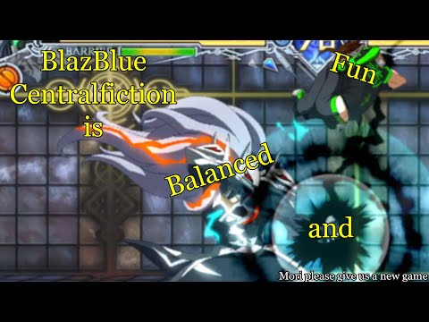 BlazBlue Centralfiction is fun and balanced :)  