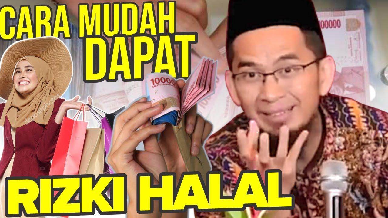 AMALKAN! RUMUS Mencari Rizki Halal, Begini Caranya - Ustadz Adi Hidayat LC MA