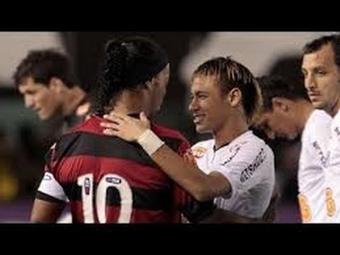 Neymar Vs Ronaldinho   Santos 4 X 5 Flamengo (27 07 2011)