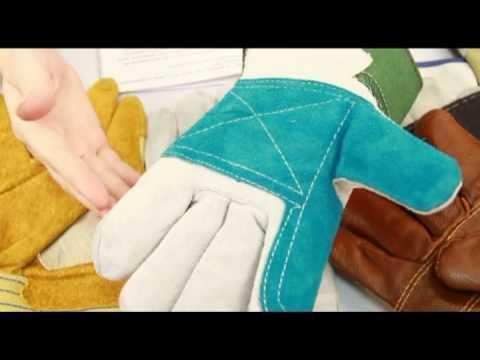 Перчатки рабочие, кожаные, спилковые - ТД Форт
