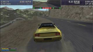 Need for Speed III Hot Pursuit - WINS MOMENTS Flip on it