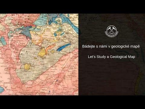 Bádejte s námi v geologické mapě/ Let's Study a Geological Map