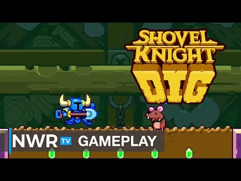 Shovel Knight Dig - Switch Gameplay (PAX West 2019)