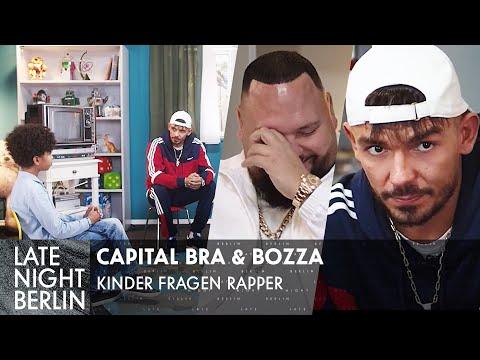 Was ist ein Bratan? Kinder fragen Rapper mit Capital Bra & Bozza | Late Night Berlin | ProSieben