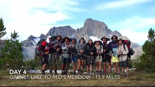 Partying the JOHN MUIR TRAIL