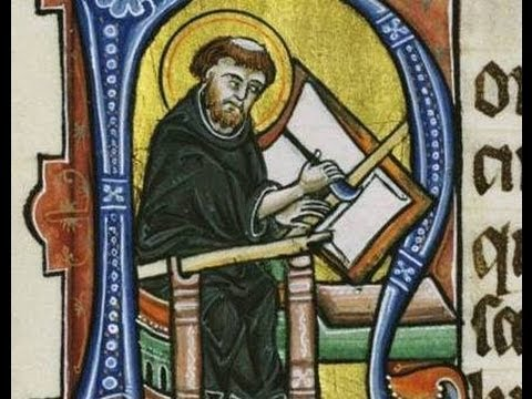 Image result for medieval monk illuminated manuscript