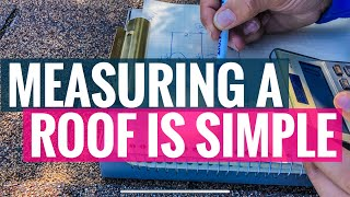 How to measure a r๐of and calculate square feet. | 01/2020