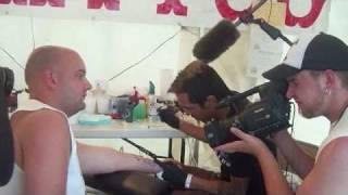Asylum Tattoo Filming Sons of Anarchy