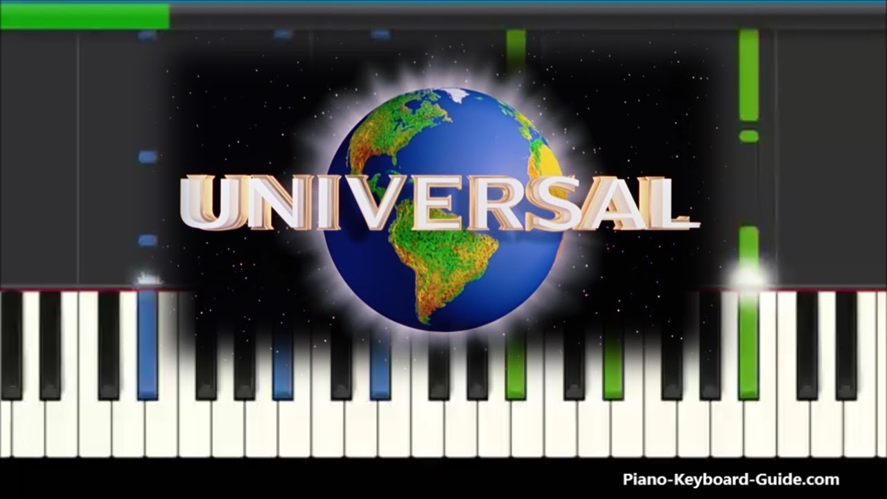 Universal Studios Theme Song (Piano Cover)