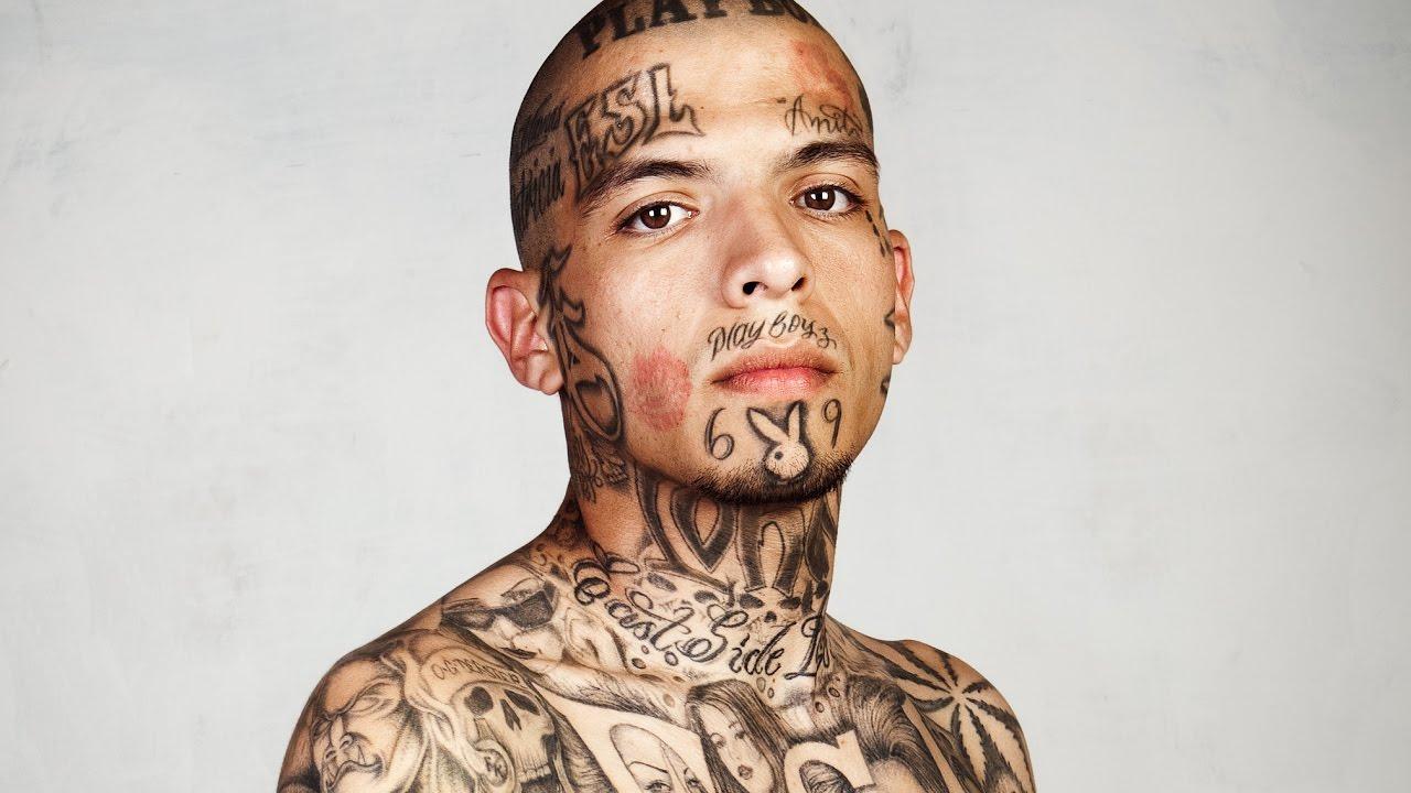Facial Gang Tattoos - Photo Porn-3332