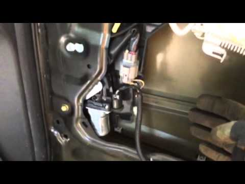 Honda Odyssey Power Sliding Door Rear Latch Replacement Youtube