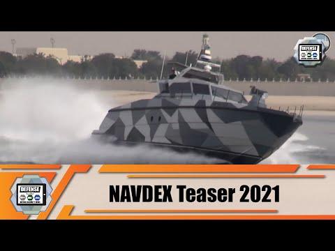NAVDEX 2021 teaser International Defense Industry Exhibition