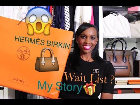 My Experience Buying Hermès Birkin Bag 👜 Hermes Birkin 35cm