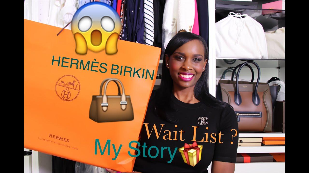 My Experience Buying Hermès Birkin Bag 👜 Hermes Birkin 35cm - YouTube f079c6f962