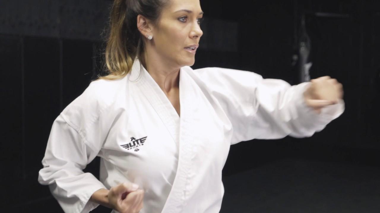 Elite Sports Adult Karate Uniform Gi  sc 1 st  YouTube & Elite Sports Adult Karate Uniform Gi - YouTube