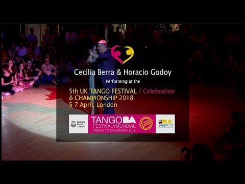 Cecilia Berra & Horacio Godoy at UK Tango Festival & Championship