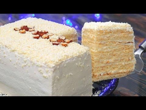 5 Вкусных Тортов за 30 минут! Торт на Новый год | Кулинарим с Таней