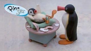 Pingu - Pinga ziet Pingu voor de eerste keer