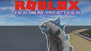 (Roblox Project/Kaiju Kaiju Online) Frozen Godzilla and NEW SANDBOX!