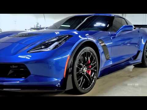 2016 Corvette Z07 >> Detail BOSS: Corvette Z06/Z07/3LZ Vinyl Wrap Ceramic Pro ...