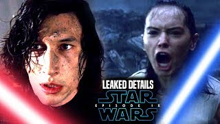 Star Wars Episode 9 Leaked Details! Kylo Ren & Rey Lightsaber Duel (Star Wars News)