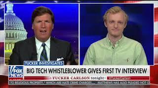 Pinterest Whistleblower Tells Tucker About Pinterest Censorship, Termination