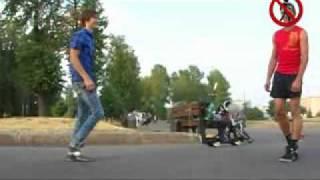 """УРОК №1 Двухколесный скейт """"Roketboard"""""""