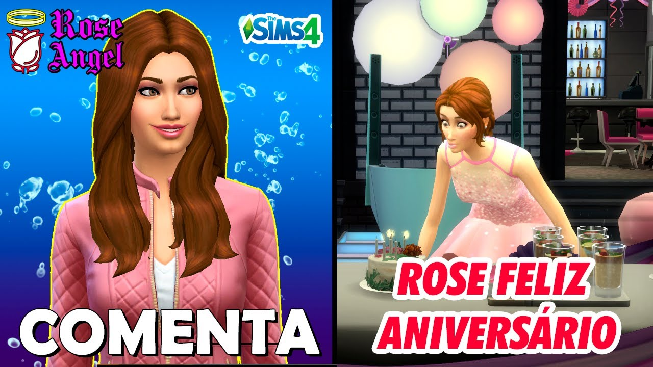 ROSE ANGEL COMENTA – ROSE FELIZ ANIVERSARIO!