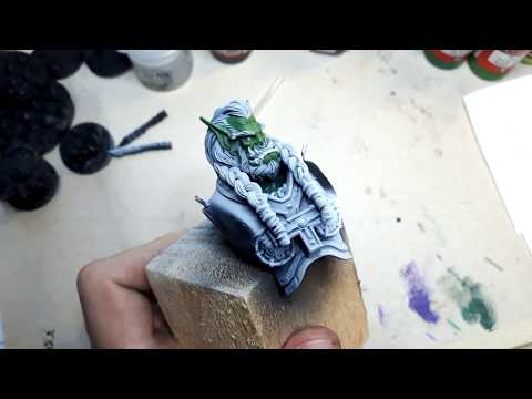 World of Warcraft Thrall - A painting guide for the bust, ep 1.