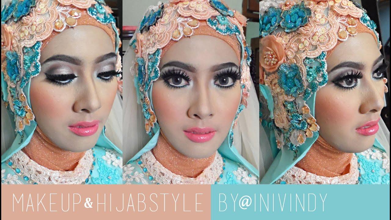 Tutorial Makeup Hijabstyle Untuk Resepsi Pengantin Muslim By