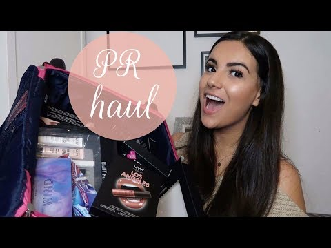 HUGE PR haul (new beauty products) + GIVEWAY!   Nicole Corrales