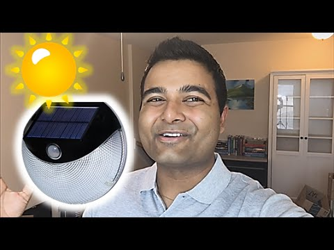STUNNING SOLAR Powered Lights! (FREE ELECTRICITY)