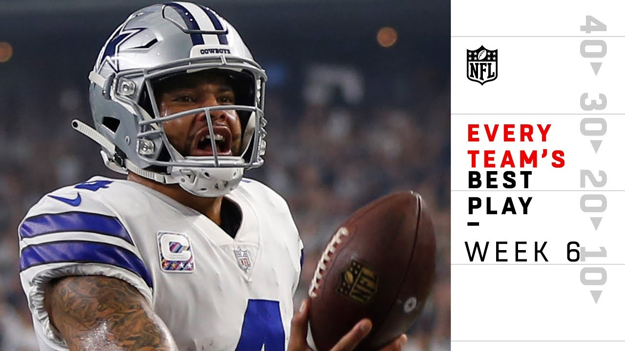 Every Team's Best Play from Week 6 | NFL Highlights